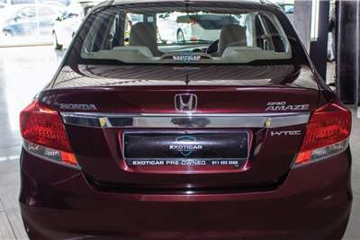 Honda Brio Amaze sedan 1.2 Trend 2014