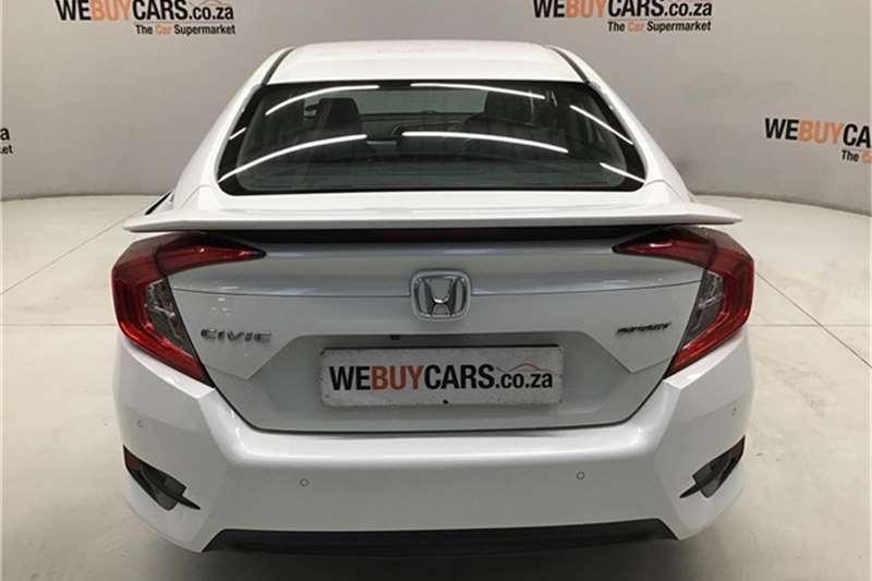 2016 Honda Civic sedan 1.5T Sport