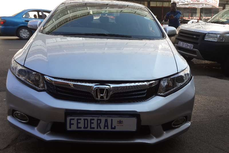 Honda Civic sedan 1.8 Comfort 2012