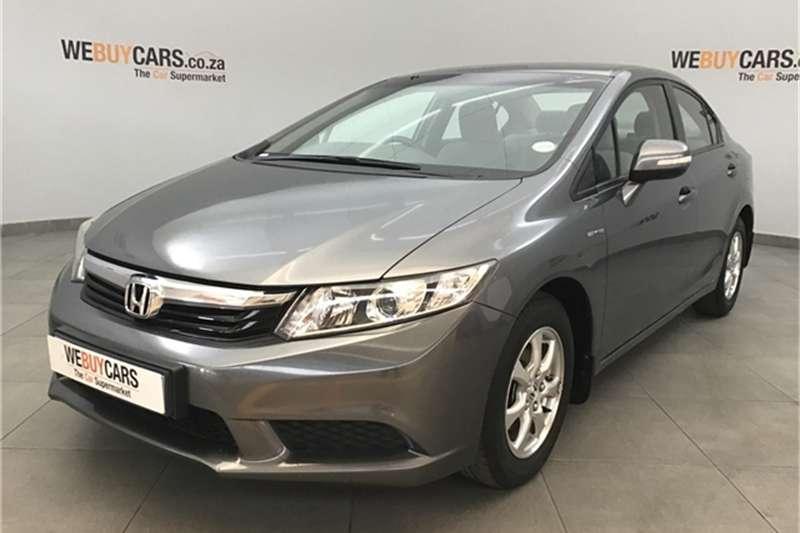 Honda Civic sedan 1.8 Comfort auto 2012