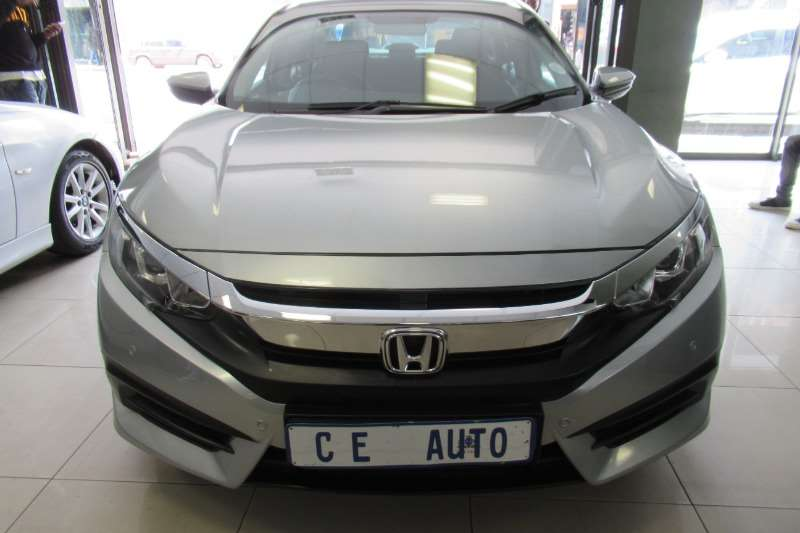 Honda Civic sedan 1.8 Comfort auto 2016
