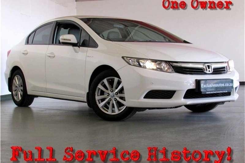 Honda Civic sedan 1.8 Executive auto 2012