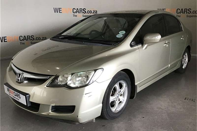 Honda Civic sedan 1.8 EXi automatic 2007