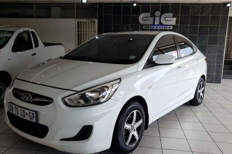 Used 2015 Hyundai Accent 1.6 GL