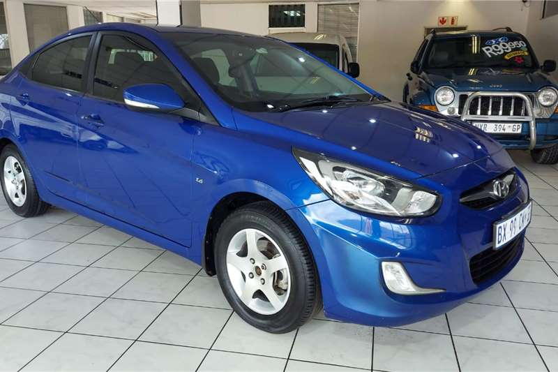 2012 Hyundai Accent Accent 1.6 GLS auto