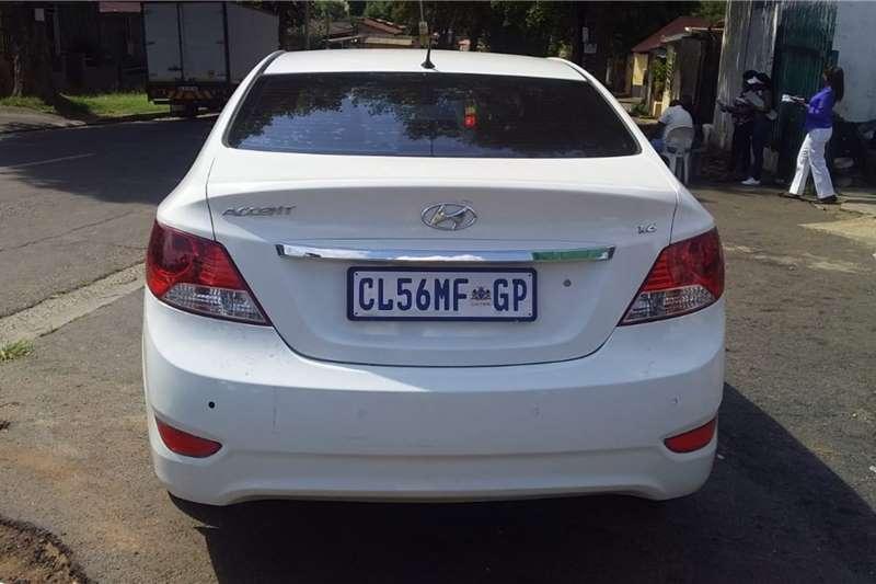 Hyundai Accent 1.6 GLS auto 2013