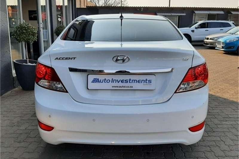 Used 2014 Hyundai Accent 1.6 GLS auto