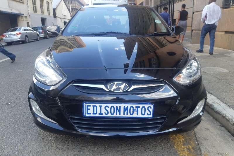 Hyundai Accent 1.6 GLS high spec automatic 2014