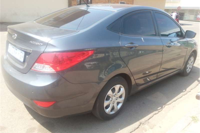 Hyundai Accent 1.6 MODEL AUTOMATIC FOR SALE 2012
