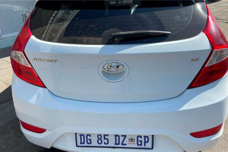 2014 Hyundai Accent Accent hatch 1.6 Fluid