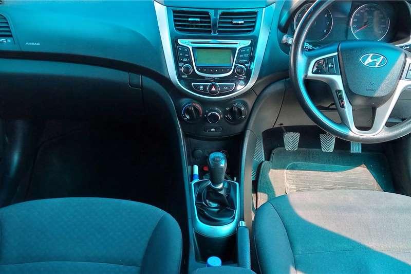 Used 2014 Hyundai Accent hatch 1.6 Fluid