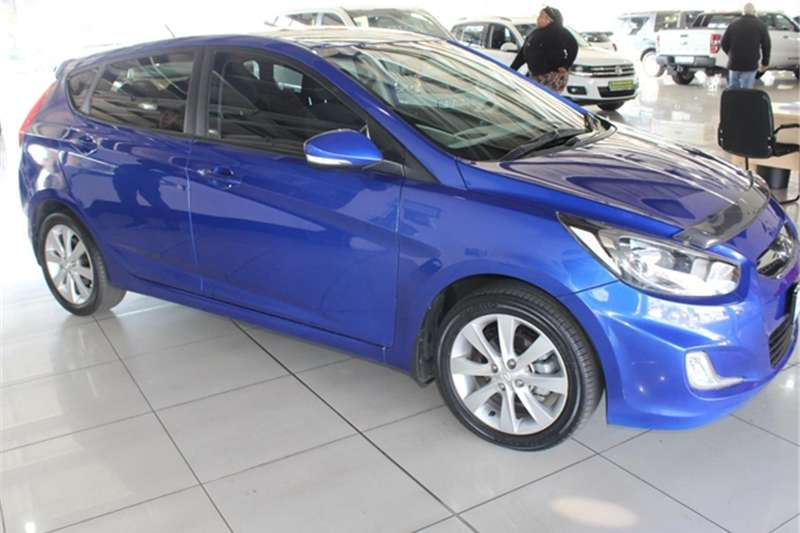 Hyundai Accent hatch 1.6 Fluid 2015