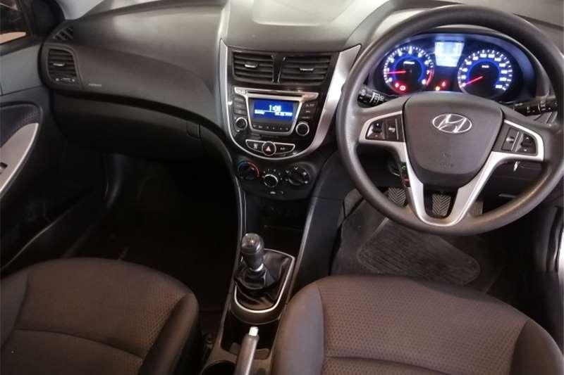 2017 Hyundai Accent Accent hatch 1.6 Fluid