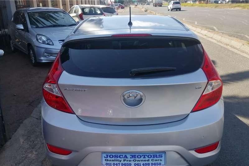 Used 2017 Hyundai Accent hatch 1.6 Fluid