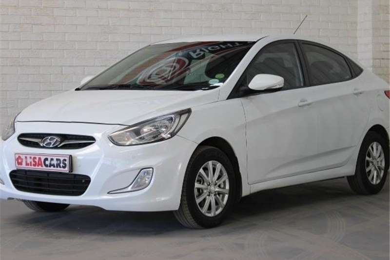 Hyundai Accent hatch 1.6 Fluid auto 2014