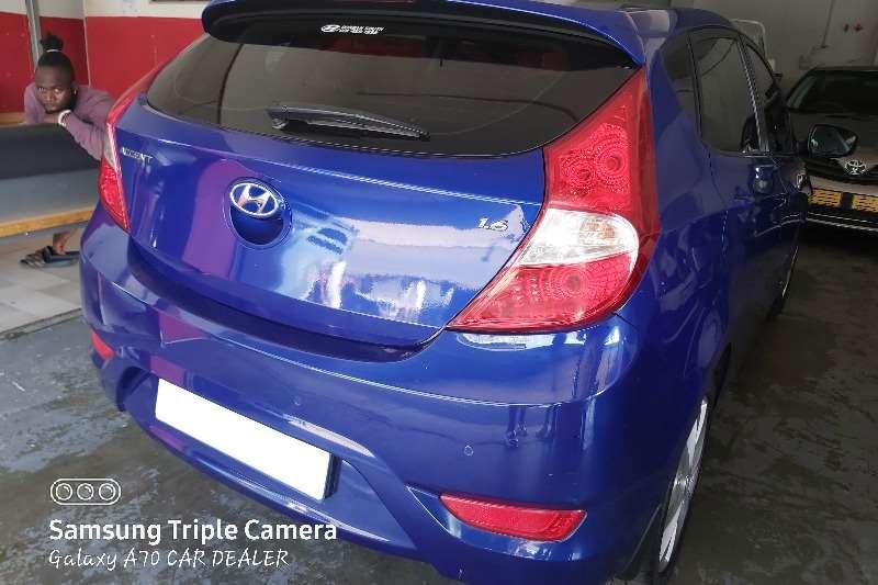 Hyundai Accent hatch 1.6 Fluid auto 2014