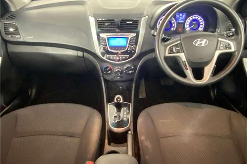 Used 2014 Hyundai Accent hatch 1.6 Fluid auto