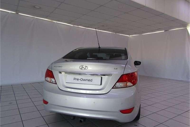 Hyundai Accent hatch 1.6 Fluid auto 2015