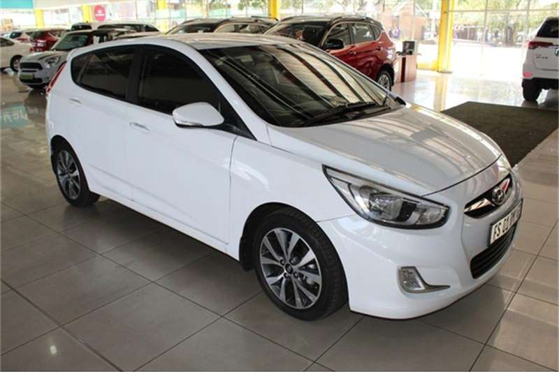 Hyundai Accent hatch 1.6 Fluid auto 2017