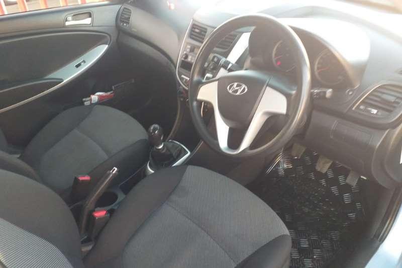2012 Hyundai Accent sedan 1.6 Fluid