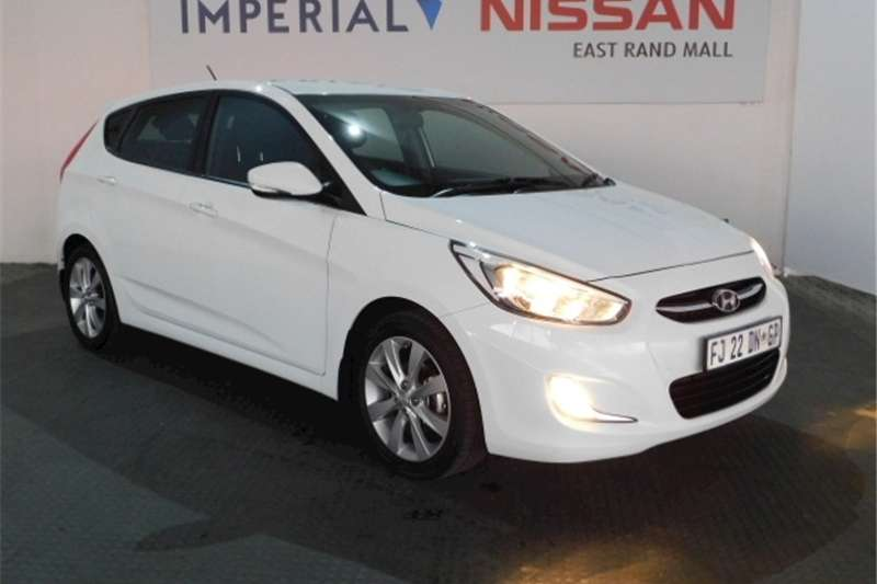 2016 Hyundai Accent hatch 1.6 Fluid auto