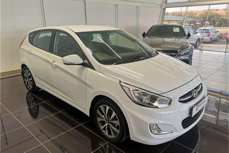 2017 Hyundai Accent hatch 1.6 Fluid