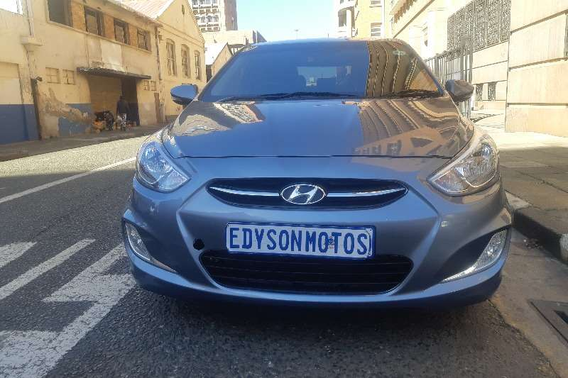 2018 Hyundai Accent 1.6 GLS auto