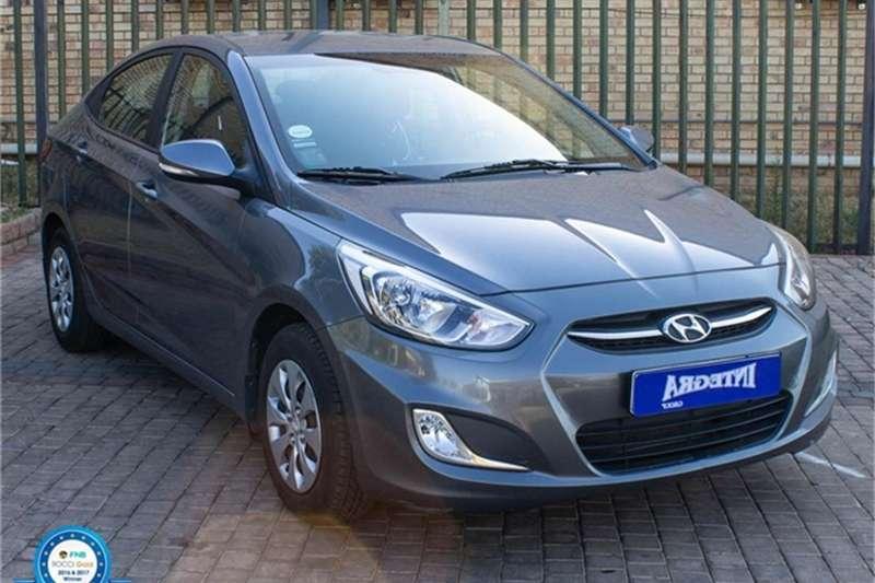 2016 Hyundai Accent hatch 1.6 Fluid auto