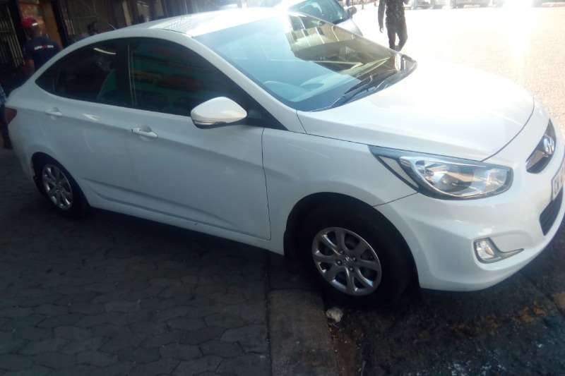 2016 Hyundai Accent sedan 1.6 Motion