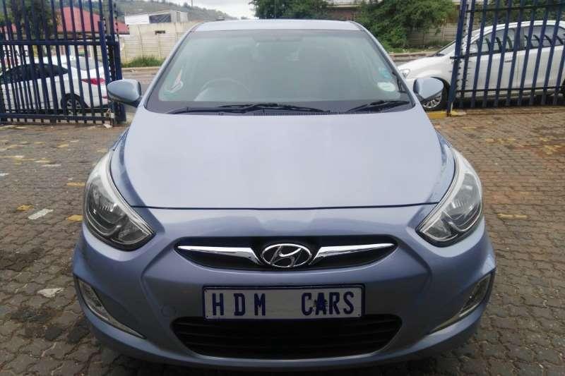 2014 Hyundai Accent hatch 1.6 Fluid