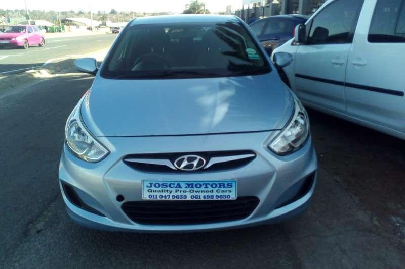 Hyundai Accent sedan 1.6 Fluid 2012
