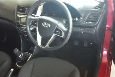 Used 2016 Hyundai Accent sedan 1.6 Fluid