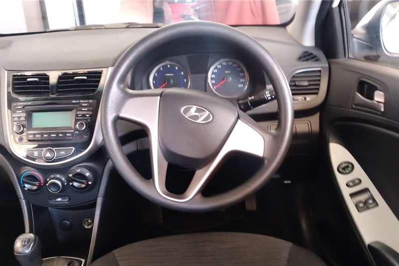 Used 2019 Hyundai Accent sedan 1.6 Fluid