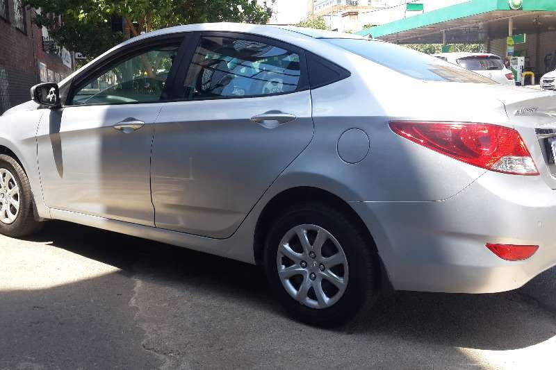 Used 2014 Hyundai Accent sedan 1.6 Fluid auto