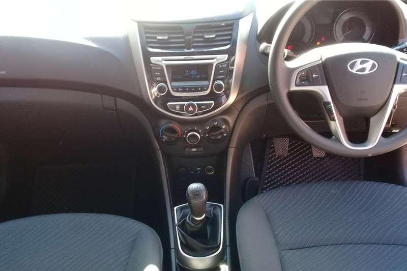 Hyundai Accent sedan 1.6 Glide 2019