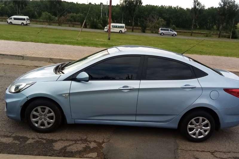 Used 2013 Hyundai Accent sedan 1.6 Motion