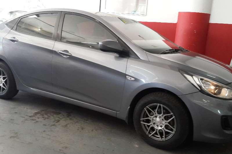 Used 2014 Hyundai Accent sedan 1.6 Motion