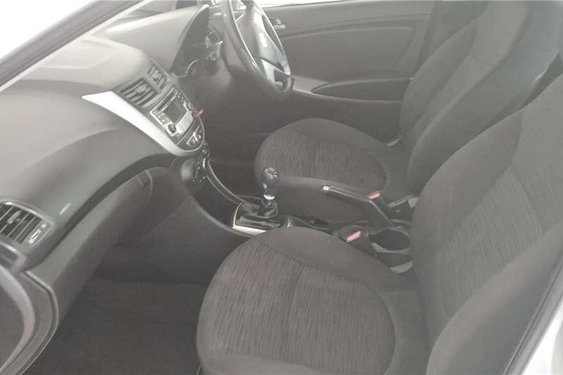 Used 2016 Hyundai Accent sedan 1.6 Motion