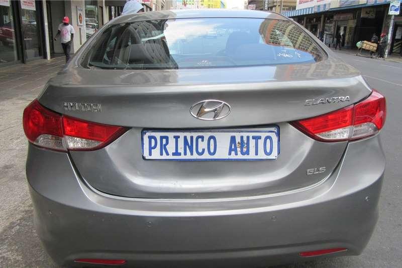 Hyundai Elantra 1.6 GLS automatic 2011