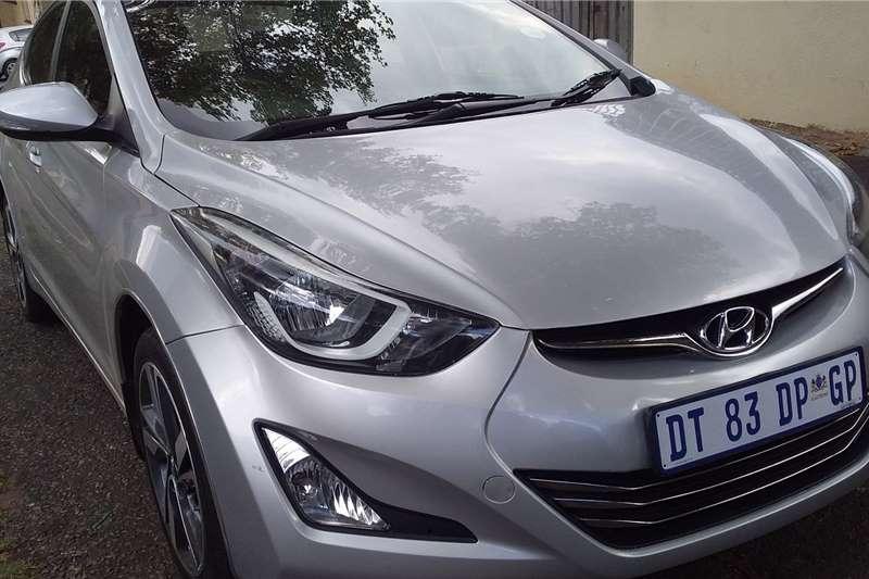 Hyundai Elantra 1.6 GLS automatic 2015