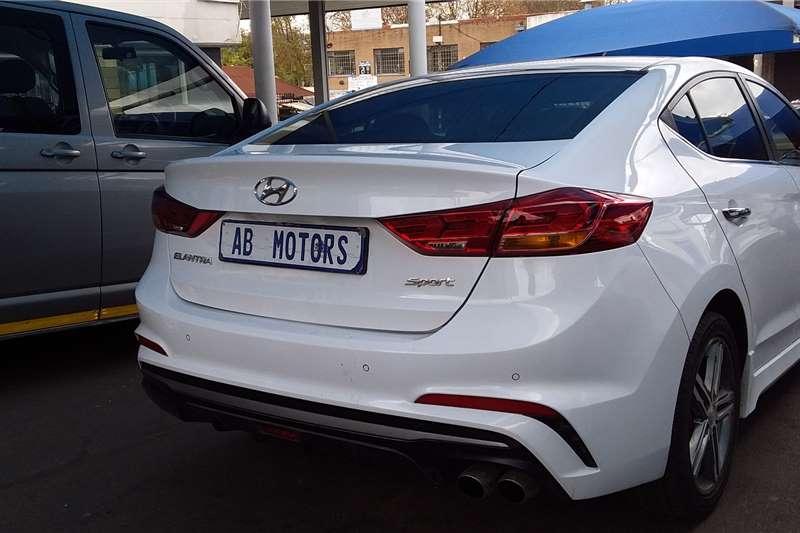 Used 2018 Hyundai Elantra 1.6 GLS automatic