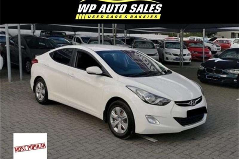 Hyundai Elantra 1.6 Premium auto 2014
