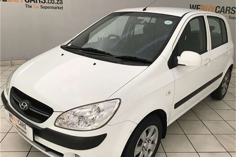 Hyundai Getz 1.4 GL high spec 2011