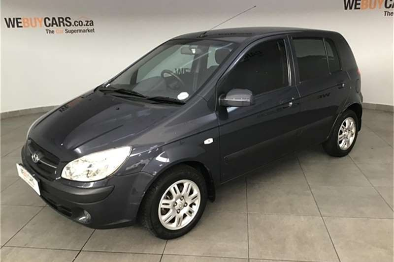 Hyundai Getz 1.6 GL high spec automatic 2009