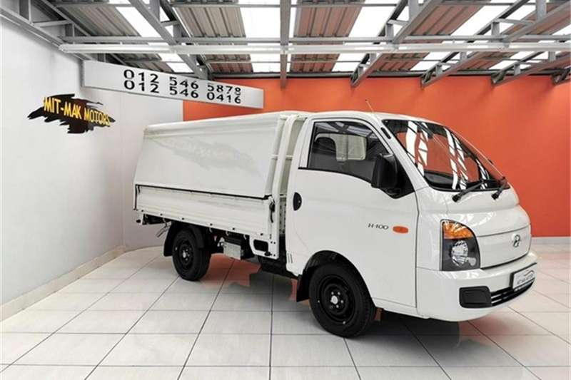 Hyundai H-100 Bakkie 2.6D chassis cab 2018