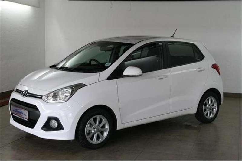 Hyundai I10 Grand  1.25 Fluid auto 2014