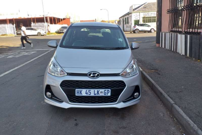 Hyundai I10 Grand  1.25 Fluid auto 2018