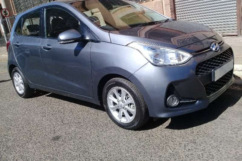 Hyundai I10 Grand  1.25 Fluid auto 2019