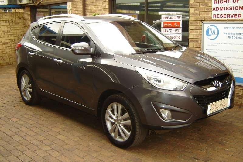 Hyundai Ix35 2.0 Executive 2010