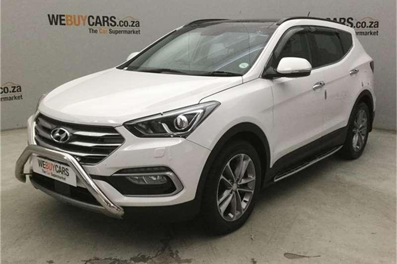 2017 Hyundai Santa FE Santa Fe 2.2CRDi 4WD Elite